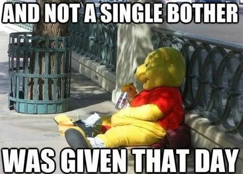 pooh not a single bother in australia