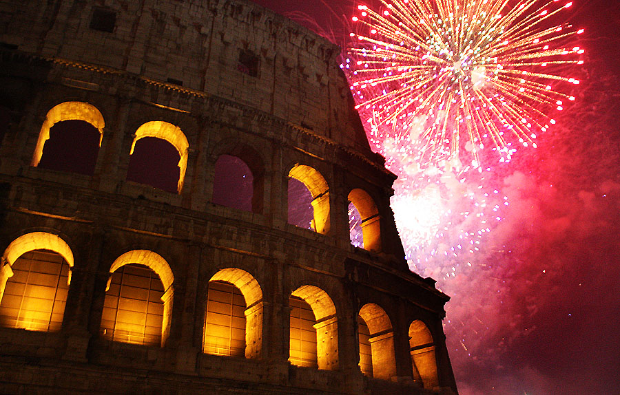 Italy on New year
