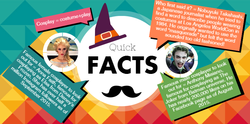 4 Cosplayer Quick Facts