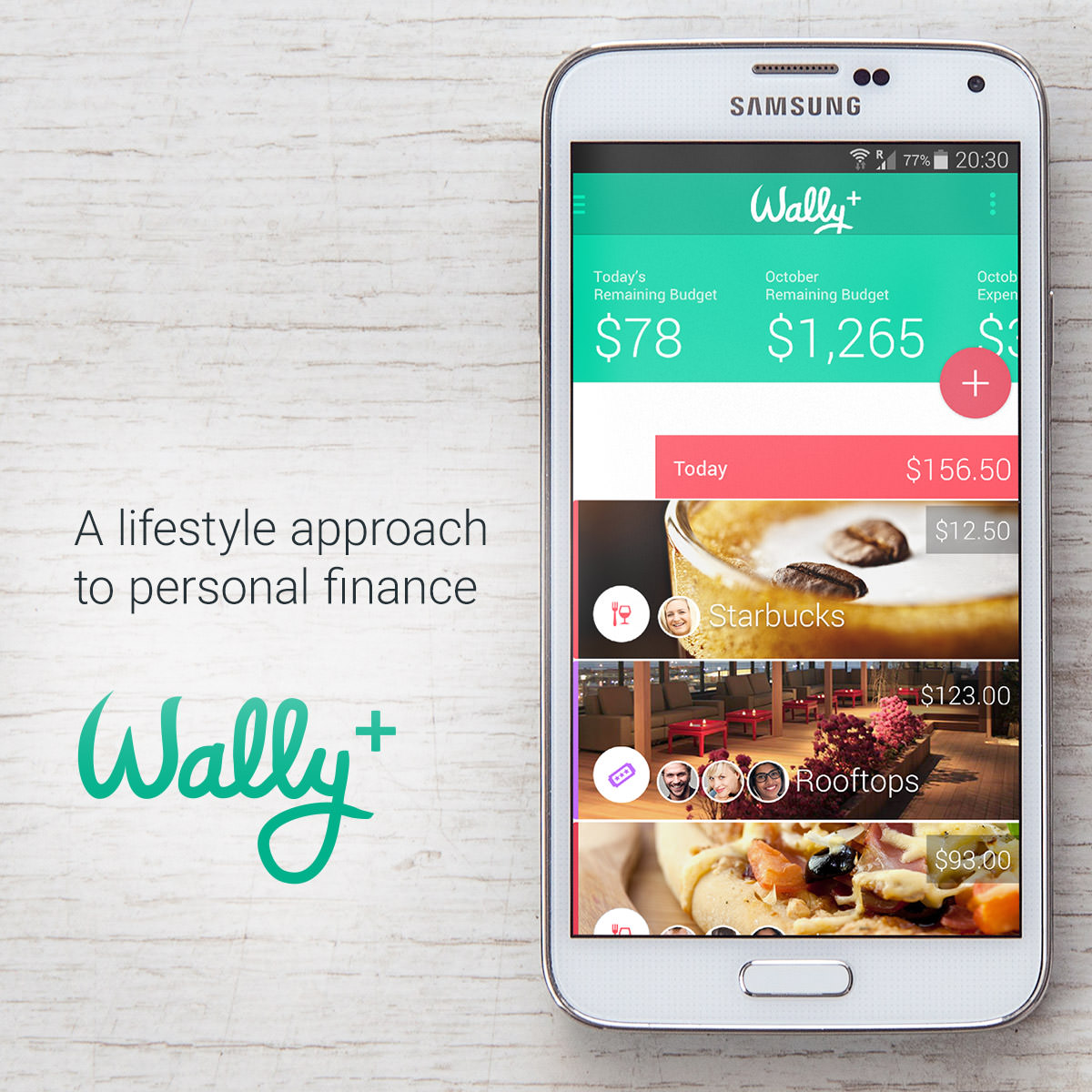 Track Your Expenses Budget Money using Phones