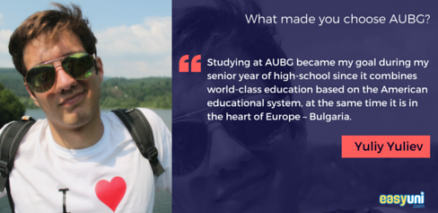 Student, AUBG, American University in Bulgaria, Bulgarian, Study Abroad
