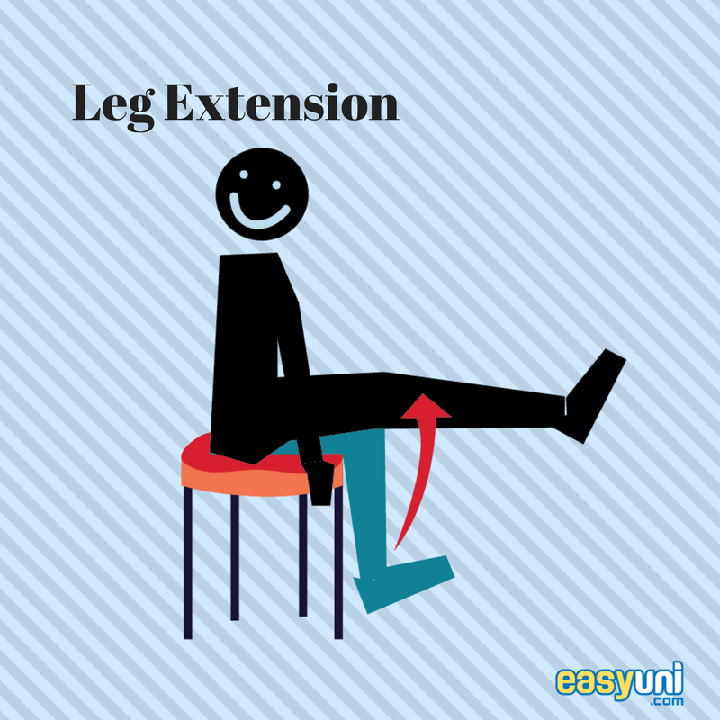 Stay Fit From Your Seat Easy To Do Chair Exercises