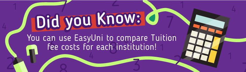 Compare institutions with EasyUni
