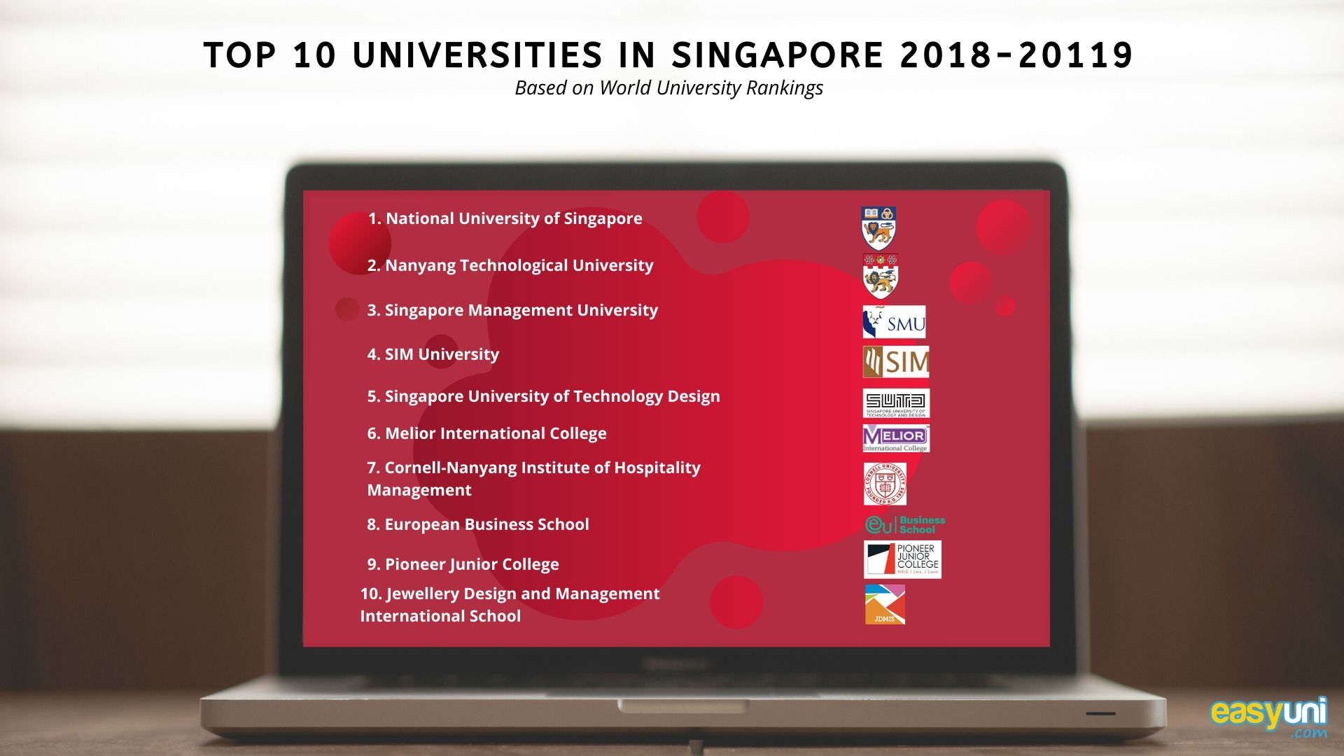 Top 10 universities in singapore